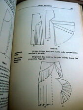 RARE VTG 1930s SEWING PATTERN DRAFTING BOOK