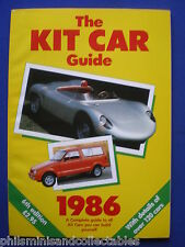 The KIT CAR Guide 1986 - A complete guide to all the Kit cars you can buy.