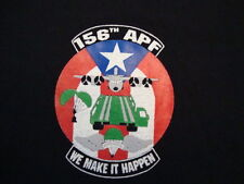 156th APF We Can Make It Happen Military  Black T Shirt Size L