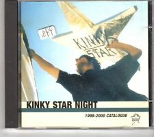 (GM222) Kinky Star Night, 21 tracks various artists - 2000 CD