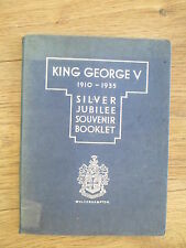 1935 SILVER JUBILEE SOUVENIR BOOK ISSUED BY WOLVERHAMPTON COUNTY BOROUGH