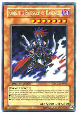 Carta YU GI OH GORZ the Emissary of Darkness dlg1-en000 Secret Rare Mint YU-GI-OH NUOVO!
