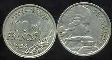 100 francs  1954   cochet