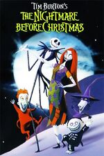 "The Nightmare Before Christmas Jack Skellington Movie Wall Poster 36""x24"" 014"