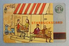 MEGA Rare Starbucks ** VESPA ** 2003 Version (6009) - Gift Card - Vintage, VHTF