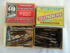 TWO BOXES OF VINTAGE DIP PEN NIBS