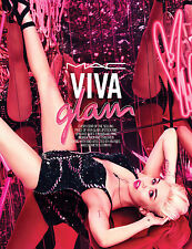 Original Poster MILEY CYRUS for MAX VIVA GLAM 2015 @ A2 @ NEW / MINT