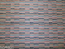Colourful Retro Geometric Rectangle Fire Retardant Upholstery Fabric (R46)