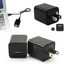 8GB 1080P US Plug USB Wall Charger AC Adapter Spy Hidden Camera Video Recorder