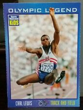 Carl Lewis Olympic Legend SI for Kids no #