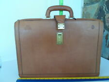 Hartmann Belting Leather Lawyer's Briefcase 07-95 and 01-96 Tags w/bag  item3505