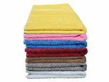 """AllitaHome's 7 Pack / Assorted Mixed Color Turkish Cotton 16"""" x 30"""" Hand Towels"""