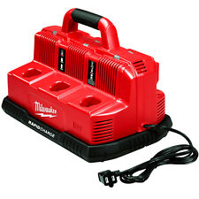 Milwaukee 48-59-1807 M18 and M12 18 and 12-Volt 6-Port Rapid Charge Station