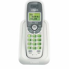 NEW VTech CS6114 DECT 6.0 Cordless Phone with Caller ID/Call Waiting, White