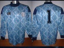England Shirt Jersey XL Vintage SHILTON Umbro Football Soccer Trikot Goalkeeper
