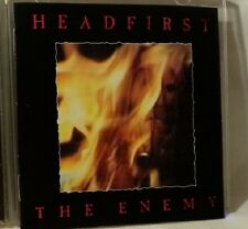HEADFIRST The Enemy CD 1990 INDIE early Metallica Megadeth style s2199
