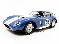 1965 SHELBY COBRA DAYTONA COUPE BLUE #98 1/18 BY SHELBY COLLECTIBLES SC130