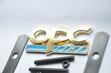 24K Gold Plated Vauxhall OPC Line Grill Front Car Badge Blue Astra Insignia