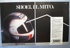 MOTOSPRINT986-PUBBLICITA'/ADVERTISING-1986- SHOEI RF 105 V