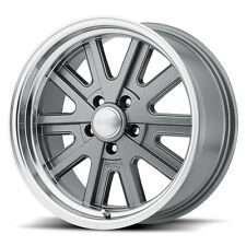 "15"" INCH VN527 WHEELS 1-PIECE 15X7 RIMS SHELBY COBRA OLD SCHOOL"