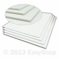 White 5mm Sign Foam Poster Display Board Cut To Sheet Sizes A1 A2 A3 A4 A5