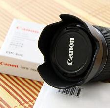 Flower Crown Lotus Petal Lens Hood for Canon 600D 550D 500D EF-S 18-55mm EW-60C