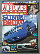 2011 SEPTEMBER MUSCLE MUSTANGS FAST FORDS MAGAZINE 4.6 5.0 FOX COBRA GT R 500