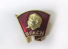 VLKSM Union Leninist Young Communist League Soviet USSR badge - NOS cccp