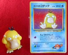 Pokemon 1st Generation PSYDUCK Figure and Card