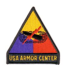 "USA ARMOR CENTER ""Patch"" (Fabrication Actuelle)"