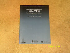 John Williams sheet music Escapades from film CATCH ME IF... Alto Sax & Orch VG+