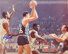 Bill Russell and K.C. Jones - Celtics Legends - Autographed 16x20 Photograph