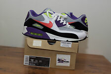 US12 2010 Nike Air Max 90 'I Am The Rules' worn 2x with extra white laces and OG