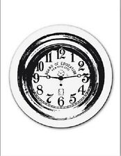 cArt-Us Clear rubber stamp SMALL CLOCK - 001883/2069 Reduced
