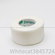 "3M DURAPORE CLOTH SURGICAL TAPE HYPOALLERGENIC FIRST AID 1"" (1X ROLL)"