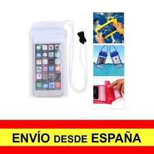 Funda Impermeable IPHONE 6 PLUS Estanca Protector Acuático Blanco a1423