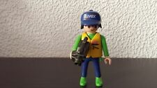 PLAYMOBIL PERSONNAGE HOMME ACCESSOIRE CAMERA 025