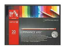CARAN D'ACHE LUMINANCE 6901 COLOUR PENCILS - Box of 20 colour pencils