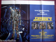 Cinema Poster: SATURN 3 1980 (Quad) Farrah Fawcett Kirk Douglas Harvey Keitel