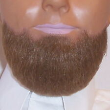 Brown Professional High Quality Chin Beard Costume Fake Hair Costume Disguise