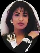 20 WATER SLIDE NAIL ART DECALS TRANSFERS SELENA QUINTANILLA OVAL 5/8 TH INCH