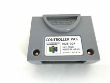 Nintendo 64 N64 Expansion Memory Card Controller Pak NUS-004 Japan Official pack