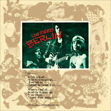 LOU REED BERLIN NEW SEALED MUSIC ON VINYL 180G LP IN STOCK