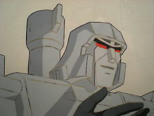 TRANSFORMERS G1 - MEGATRON - Cel + Pencils - Original 1984 TV Production Art 2