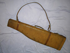 Vintage Suede/Leather Leg Of Mutton Shot  Gun Case