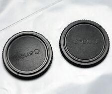 2pcs FD Body Cap for Canon A1 AE-1 AV-1 AL-1 F1 T50 T70 T90 NEW F-1 MF SLR
