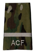 New Multicam MTP ACF Under Officer RANK SLIDE (Cadets Army Cadet Force