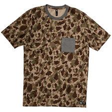 Element RECON Mens Cotton Blend Short Sleeve T-Shirt Large Camo NEW