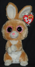TY BEANIE BOOS - CARROTS THE RABBIT - MINT with MINT TAGS - 2014 NEW VERSION