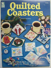 Quilted Coasters pattern Holiday Sunbonnet flowers seasonal designs